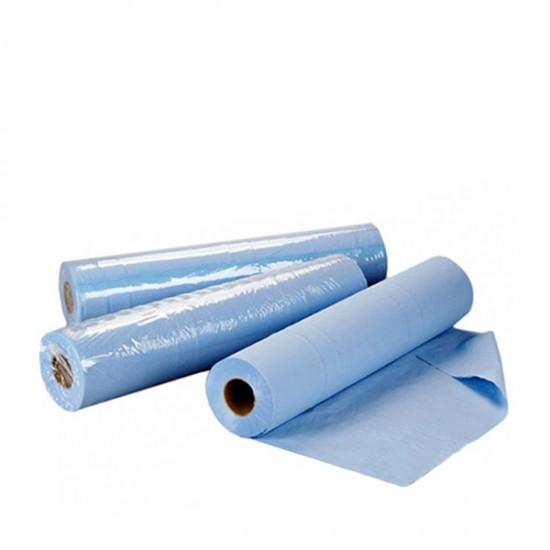 Сини еднократни чаршафи ролка TNT – нетъкан текстил