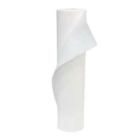Бели двупластови чаршафи 58 см – хартиени, релефни SG115