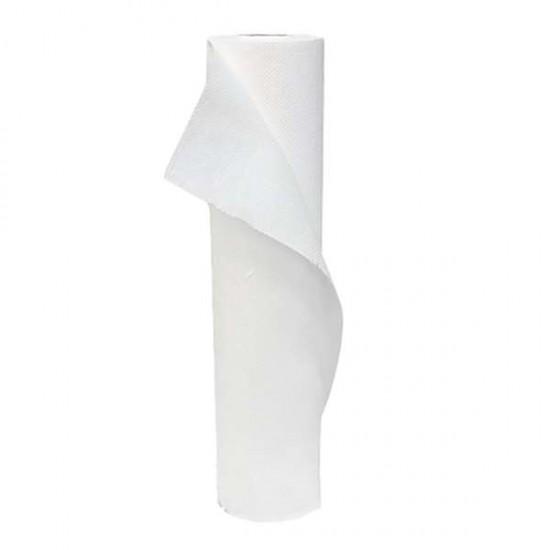 Бели двупластови еднократни чаршафи 68 см – хартиени, релефни SG117