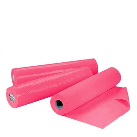 Розови еднократни чаршафи ролка TNT – нетъкан текстил