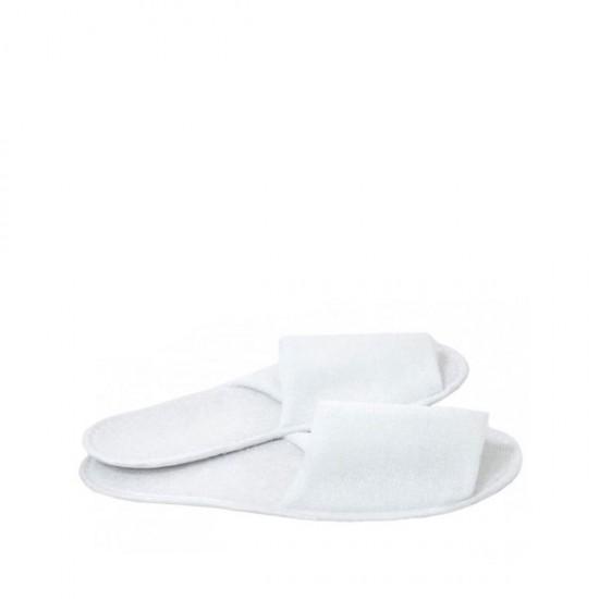 Еднократни отворени чехли, хавлиени - 1 чифт