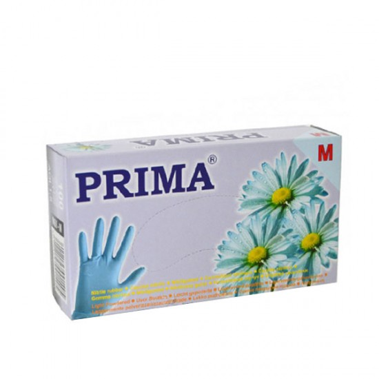 Ръкавици за еднократна употреба 100 броя - сини