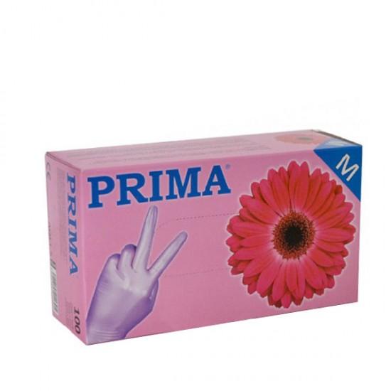 Ръкавици за еднократна употреба с розов цвят - кутия от 100бр.