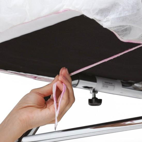 Еднократни чаршафи с ластици - непромокаеми, 10 броя