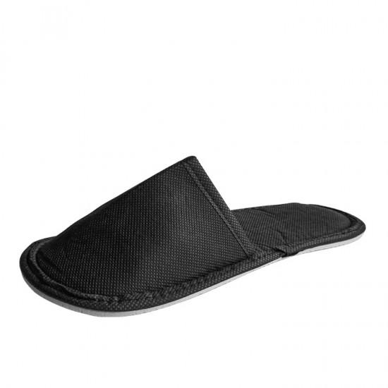 Затворени чехли, ТНТ, Черен цвят - 5, 10 или 30 чифта
