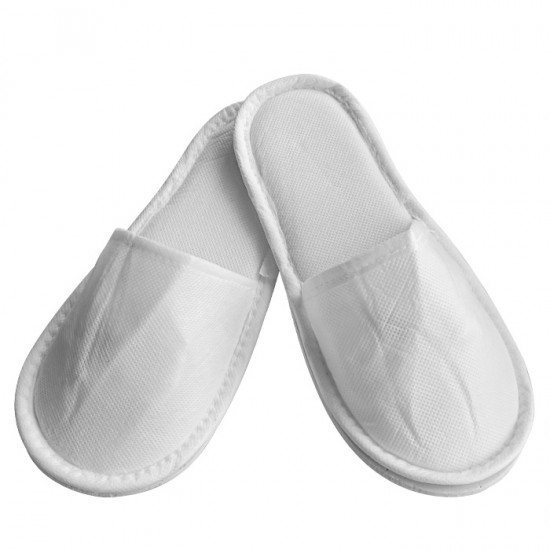Затворени чехли, ТНТ, Бял цвят - 5, 10 или 30 чифта