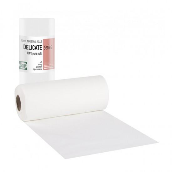 Кърпи на ролка от двупластова хартия Softcare