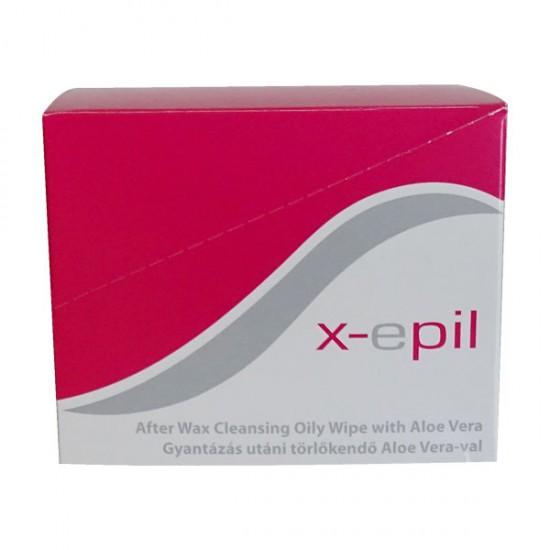 Почистващи кърпички за след кола маска X-epil