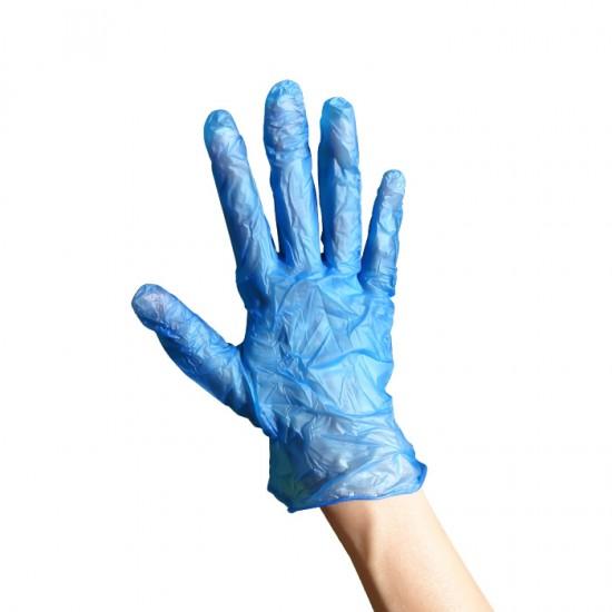 Предпазни еднократни ръкавици от винил 100 броя
