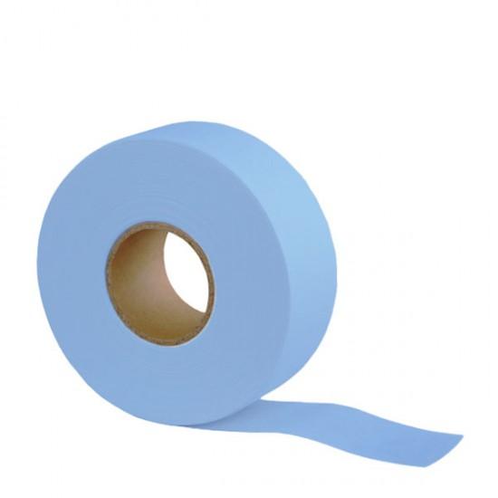 Перфорирана цветна лента – ролка 70 метра - синя