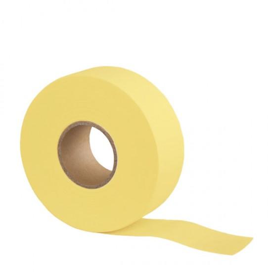 Перфорирана цветна лента – ролка 70 метра - жълта
