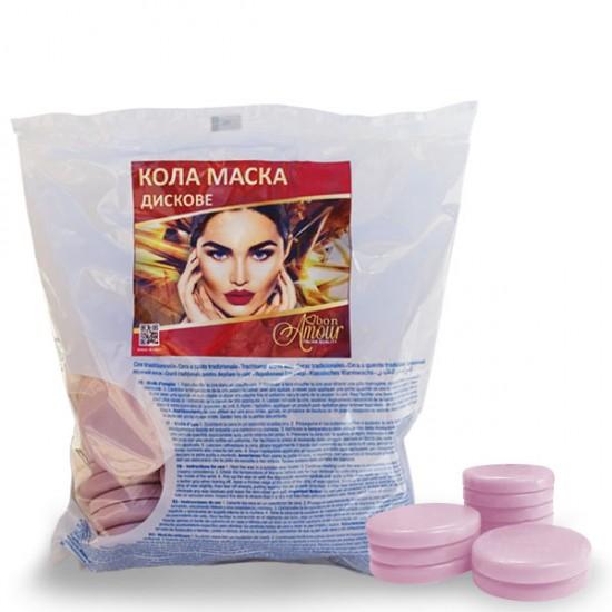 Кола маска Bon Amour, Жасмин - на дискове, пакет 1000 гр.
