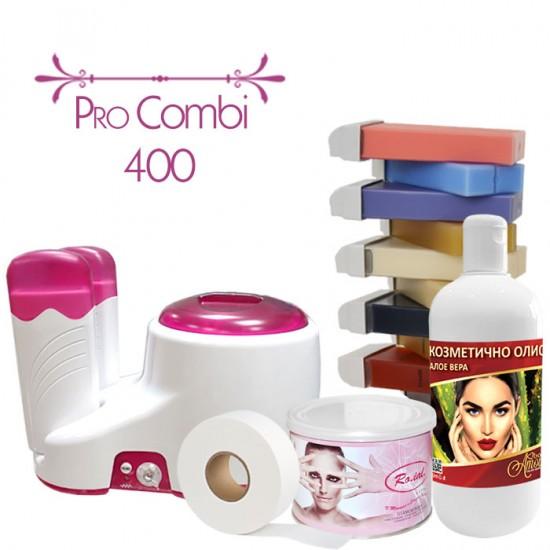 Комбиниран комплект за кола маска модел - Pro Combi 400