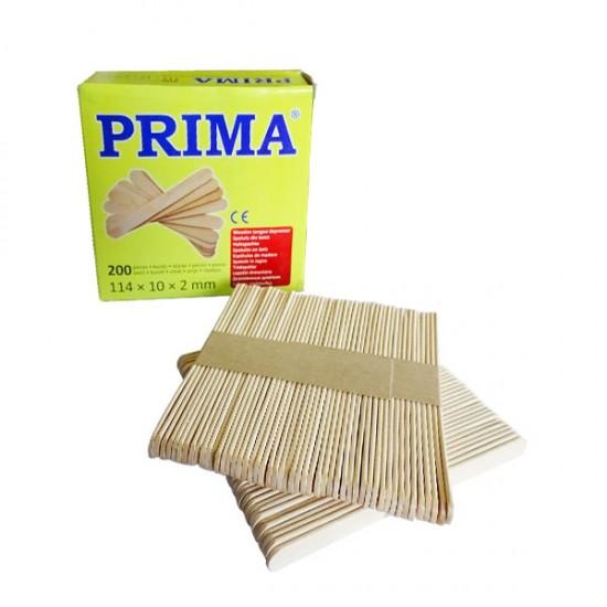Дървени шпатули Prima за топла кола маска 200 броя
