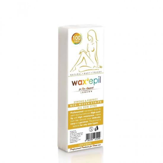 Нарязана лента за кола маска WaxEpil - 100 броя в опаковка