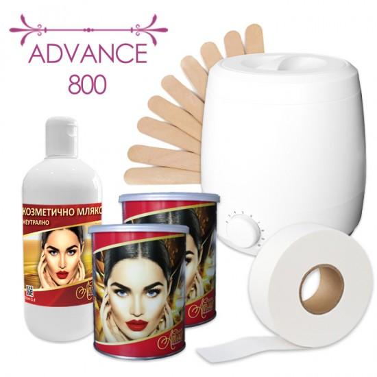 Промо пакет за епилация с кола маска кутия - Advance 800