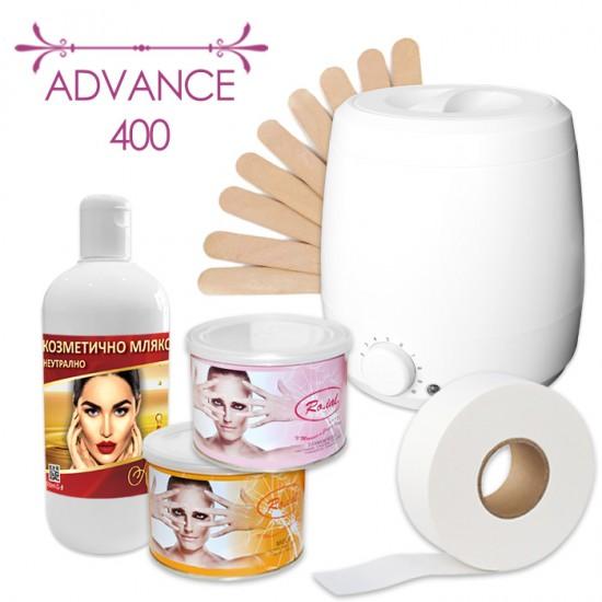 Промо пакет за епилация с кола маска кутия - Advance 400