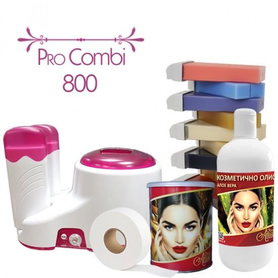 Комплект за епилация с кола маска, комбиниран - Pro Combi 800